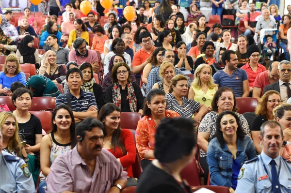 Western Sydney residents from all backgrounds gathered for Harmony Day, March 21, 2017.