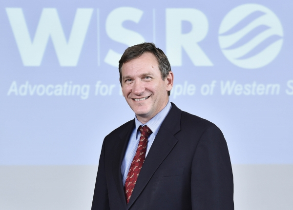 WSROC President Cr Stephen Bali MP