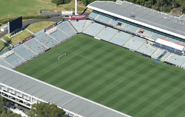 Sports ground in Western Sydney.