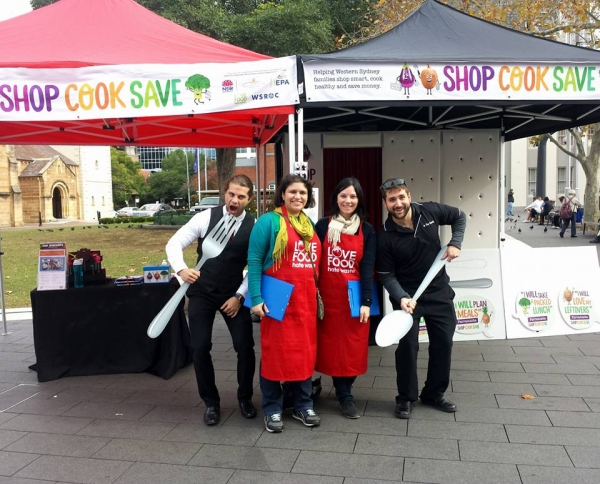 Shop Cook Save Event Team at The Parramatta Farmers Markets