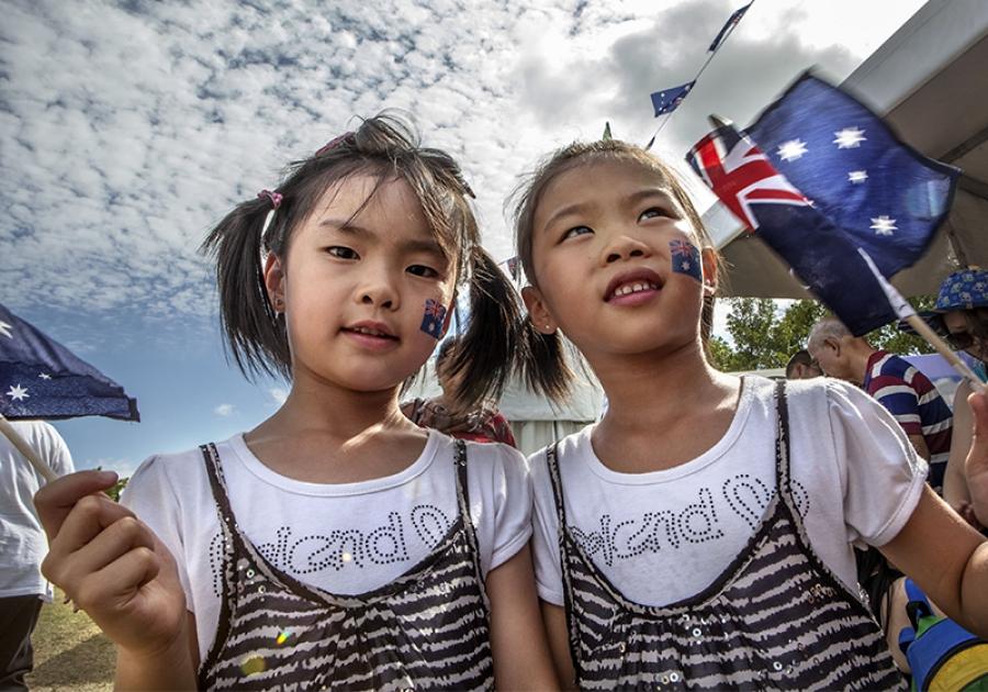 Australia Day At Sydney Olympic Park