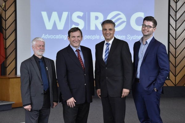 WSROC Executive 2016 -2017 (left to right): Cr Mick Fell (Senior Vice President), Cr Stephen Bali (President), Cr Frank Carbone (Junior Vice President) and Cr Aaron Duke (Treasurer).