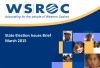 WSROC 2015 State Election Issues Brief