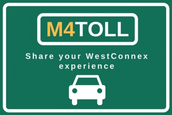 Share your WestConnex experience via M4toll@wsroc.com.au
