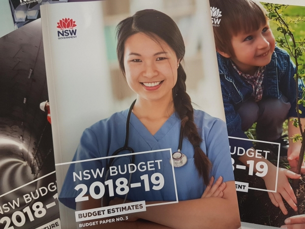 2018/19 NSW Budget papers.