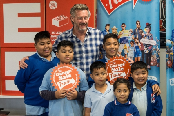 Barry Du Bois launches Garage Sale Trail at Emerton Youth Centre, Blacktown City Council