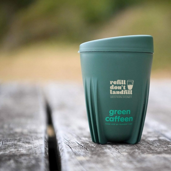 Refill Don't Landfill campaign launched as Western Sydney goes Green Caffeen